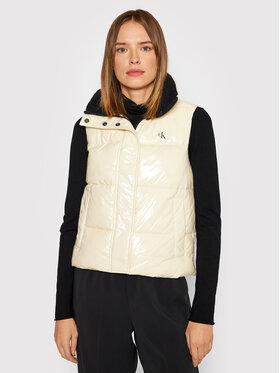 Calvin Klein Jeans Calvin Klein Jeans Prsluk J20J216865 Bijela Regular Fit