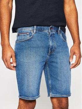 TOMMY HILFIGER TOMMY HILFIGER Szorty jeansowe Brooklyn MW0MW13605 Granatowy Regular Fit