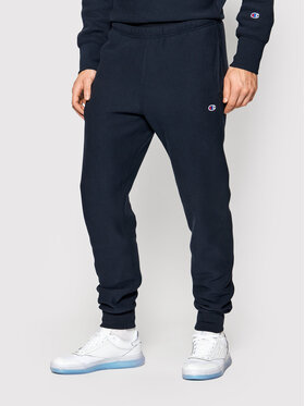 Champion Champion Pantalon jogging Ribbed Cuffs Reverse Weave 216541 Bleu marine Custom Fit
