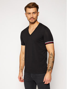 Dsquared2 Underwear Dsquared2 Underwear T-Shirt D9M453200 Czarny Regular Fit