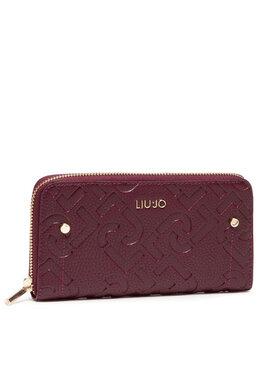 Liu Jo Liu Jo Veľká dámska peňaženka Ecs Xl Zip Around AF1051 E0538 Bordová