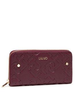 Liu Jo Liu Jo Velká dámská peněženka Ecs Xl Zip Around AF1051 E0538 Bordó