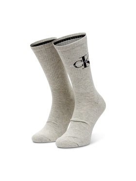 Calvin Klein Jeans Calvin Klein Jeans Pánské klasické ponožky 100001816 Šedá