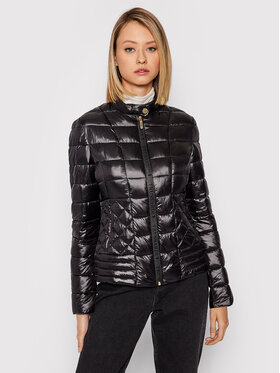 Trussardi Trussardi Pernata jakna 56S00689 Crna Slim Fit