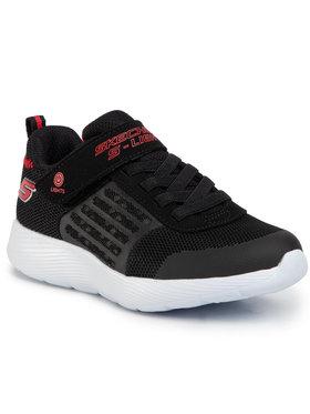 Skechers Skechers Sneakersy 90740L/BKRD Czarny