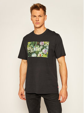 Levi's® Levi's® Póló Graphic Tee 16143-0007 Fekete Relaxed Fit