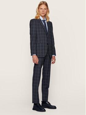 Boss Boss Costume Huge6/Genius5 50438224 Bleu marine Slim Fit