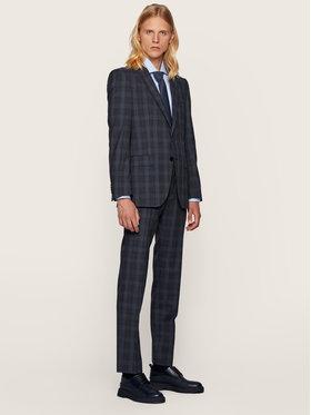 Boss Boss Garnitur Huge6/Genius5 50438224 Granatowy Slim Fit