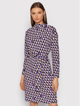 Marella Marella Kleid für den Alltag Montre 36260416 Violett Slim Fit