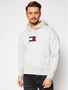 Tommy Jeans Tommy Jeans Μπλούζα Small Flag DM0DM08726 Γκρι Regular Fit