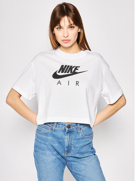 Nike Nike Marškinėliai Nsw Air BV4777 Balta Regular Fit