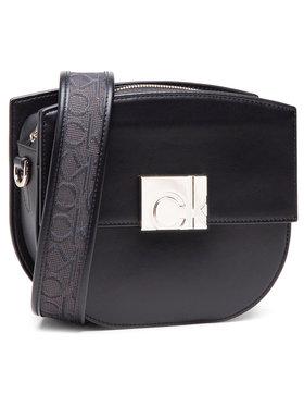 Calvin Klein Calvin Klein Táska Saddle Bag W/Flap Jq Strap K60K608054 Fekete