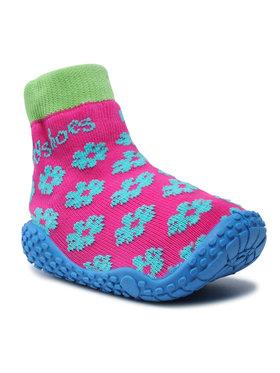 Playshoes Playshoes Boty 174805 Růžová