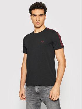 Emporio Armani Underwear Emporio Armani Underwear Marškinėliai 111890 1A717 00020 Juoda Regular Fit