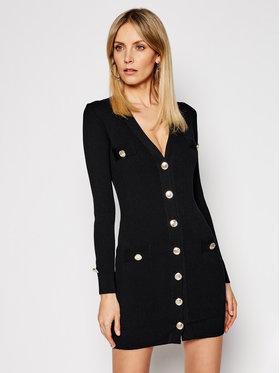 Pinko Pinko Úpletové šaty Parapendio PE 21 BLK01 1G15TU Y6Z9 Černá Slim Fit