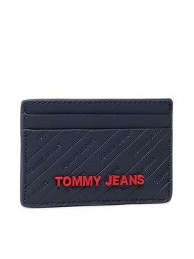 Tommy Jeans Tommy Jeans Etui na karty kredytowe Tjw Pu Cc Holder AW0AW10683 Granatowy