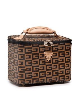 Guess Guess Kosmetický kufřík 40Th Anniversary (G8) Slg SWG814 14930 Hnědá