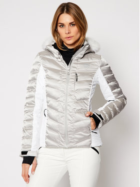 Rossignol Rossignol Skijaška jakna Rapide Silver RLJWJ13 Srebrna Slim Fit
