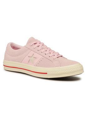 Converse Converse Πάνινα παπούτσια One Star Ox 163194C Ροζ