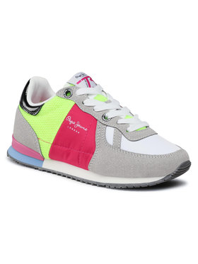 Pepe Jeans Pepe Jeans Sneakersy Sydney Trend Girl PGS30498 Szary