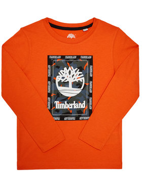 Timberland Timberland Chemisier T25R13 D Orange Regular Fit