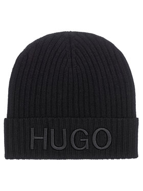 Hugo Hugo Czapka Unisex-X 565-2 50441405 Czarny