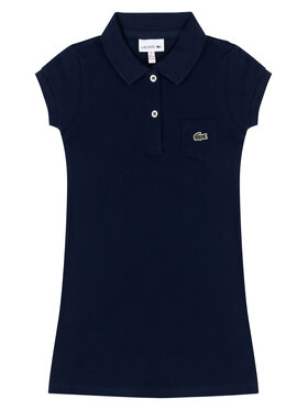 Lacoste Lacoste Každodenné šaty EJ2816 Tmavomodrá Regular Fit
