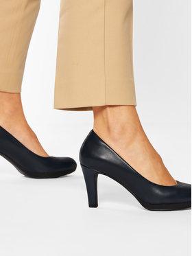 Clarks Clarks Κλειστά παπούτσια Adriel Viola 261293614 Σκούρο μπλε