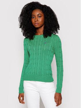 Polo Ralph Lauren Polo Ralph Lauren Sweater Lsl 211580009076 Zöld Regular Fit