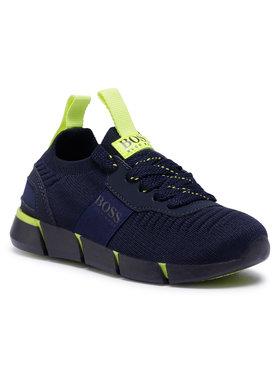 Boss Boss Sneakersy J29217 M Tmavomodrá