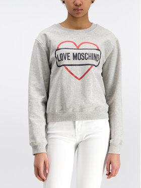 LOVE MOSCHINO LOVE MOSCHINO Pulóver W630621E2017 Szürke Regular Fit