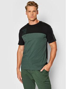 Fila Fila T-Shirt Ojas 683481 Zelená Regular Fit