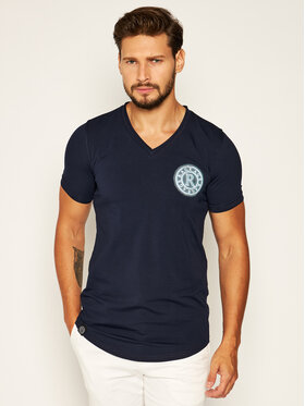 Rage Age Rage Age T-Shirt Chiron 2 Granatowy Slim Fit