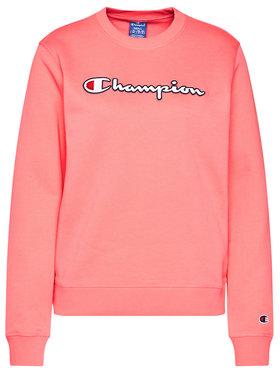 Champion Champion Bluza Sweat Crewneck 113190 Różowy Regular Fit