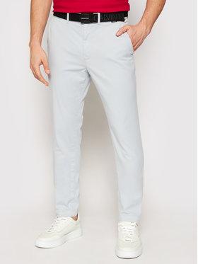 Calvin Klein Calvin Klein Chino nohavice K10K106894 Modrá Slim Fit