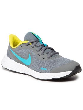 Nike Nike Topánky Revolution 5 (GS) BQ5671 019 Sivá