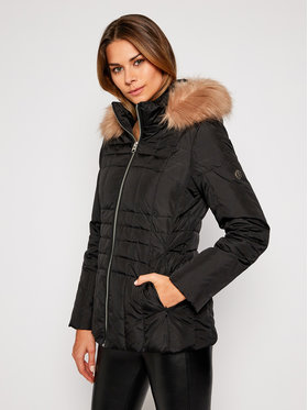 Calvin Klein Calvin Klein Vatovaná bunda Essential Fake K20K202312 Černá Regular Fit