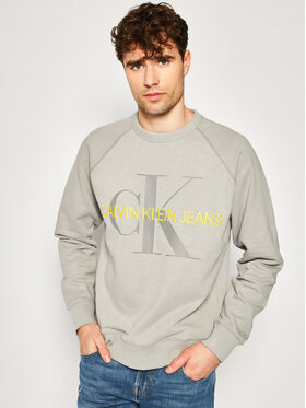 Calvin Klein Jeans Calvin Klein Jeans Bluză J30J314860 Gri Regular Fit
