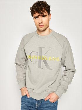 Calvin Klein Jeans Calvin Klein Jeans Суитшърт J30J314860 Сив Regular Fit
