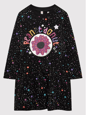 Coccodrillo Coccodrillo Ежедневна рокля ZC1129101MON Черен Regular Fit