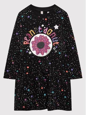 Coccodrillo Coccodrillo Kleid für den Alltag ZC1129101MON Schwarz Regular Fit