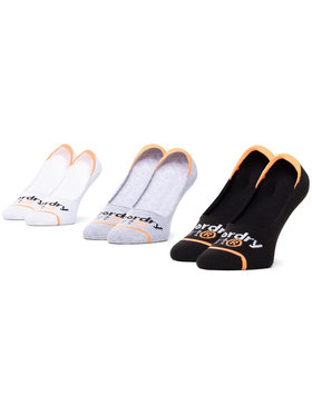 Superdry Superdry Σετ 3 ζευγάρια κάλτσες σοσόνια γυναικεία MS400011A Έγχρωμο