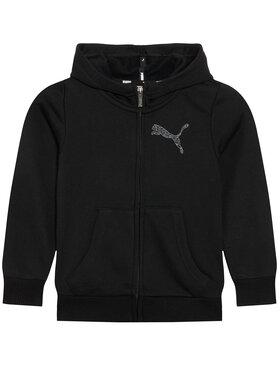 Puma Puma Μπλούζα Graphic 583291 Μαύρο Regular Fit