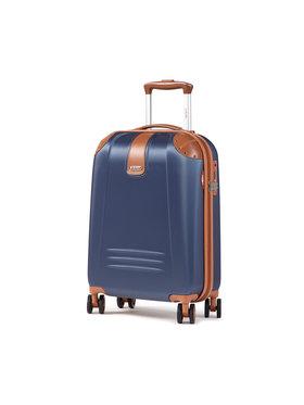 Dielle Dielle Kis kemény borítású bőrönd 155/55 Sötétkék