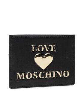 LOVE MOSCHINO LOVE MOSCHINO Puzdro na kreditné karty JC5619PP1DLF0000 Čierna