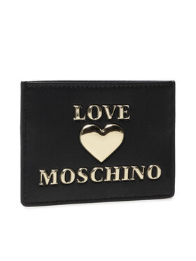 LOVE MOSCHINO LOVE MOSCHINO Θήκη πιστωτικών καρτών JC5619PP1DLF0000 Μαύρο