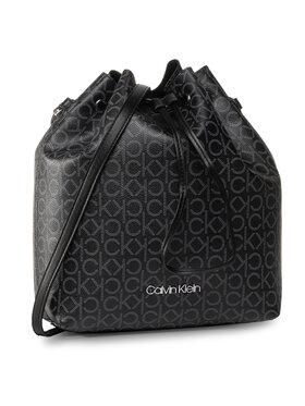 Calvin Klein Calvin Klein Borsa Ck Mono Drawstring Md K60K606477 Nero
