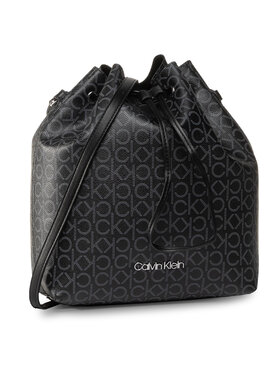 Calvin Klein Calvin Klein Rankinė Ck Mono Drawstring Md K60K606477 Juoda