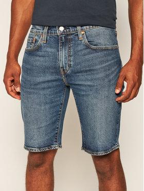Levi's® Levi's® Дънкови шорти 502™ Taper 32792-0066 Тъмносин Regular Fit