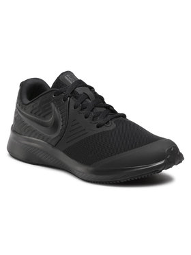 Nike Nike Boty Star Runner 2 (GS) AQ3542 003 Černá